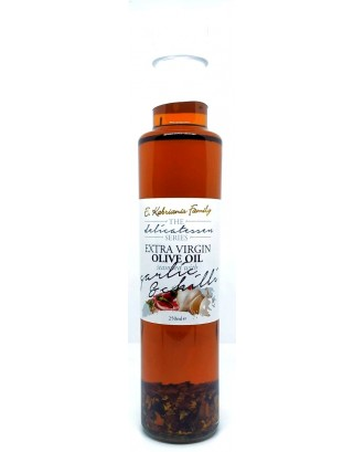 Flavoured olive oil with Garlic & Chilli 250 ml