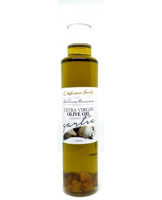 Flavoured olive oil with Garlic 250 ml