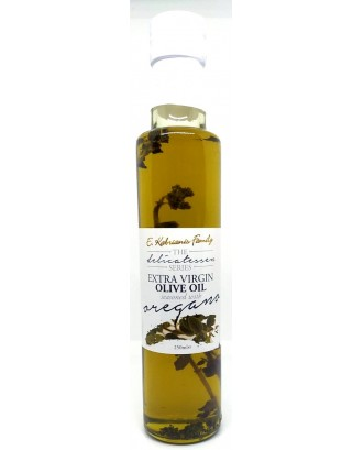 Flavoured olive oil with oregano 250 ml
