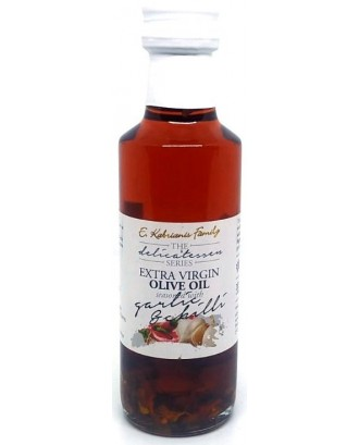 Flavoured olive oil with Garlic & Chilli 100 ml