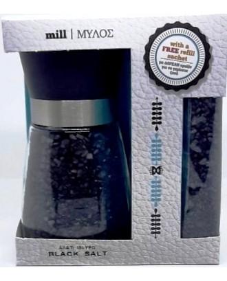 GRINDER SET BLACK SALT 190 gr + 40 gr FREE