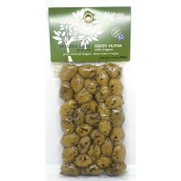 Green olives  with Oregano 250gr