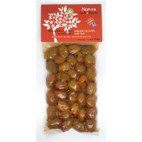 Green olives with Chilli 250gr