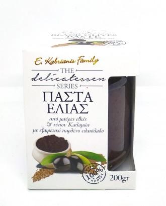 Black olive paste 200gr