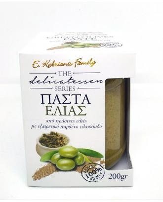Green olive paste 200gr