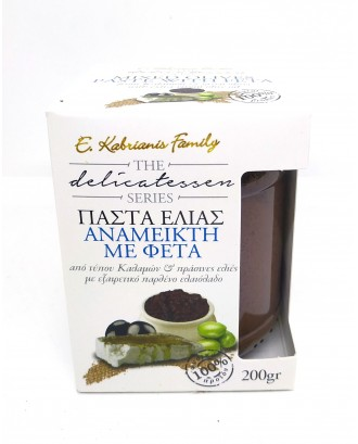 Mixed olives paste with feta 200gr