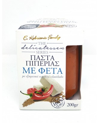 Red peppers paste with feta cheese 200gr