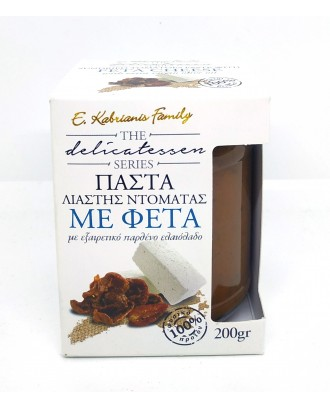 Sundried tomatoes paste with feta cheese 200gr