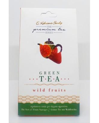 """Wild Fruits"" Premium green tea 40gr"