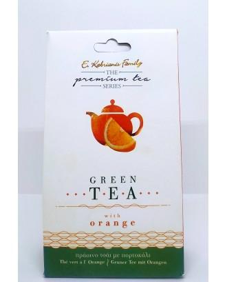 """Orange"" Premium green tea 40gr"