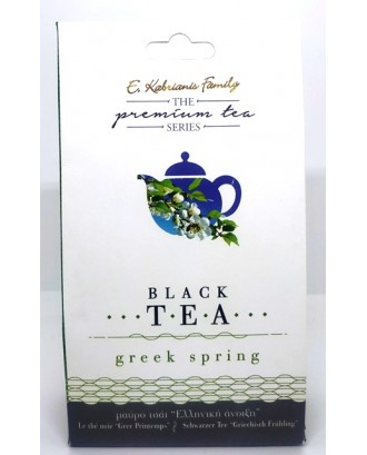 """Greek spring "" Premium black tea 40gr"