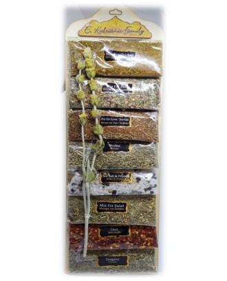 8 sackets of herbs code 0003