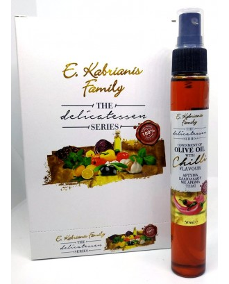 Flavoured olive oil with chilli in spray 50 ml