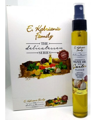 Flavoured olive oil with Garlic in spray 50 ml