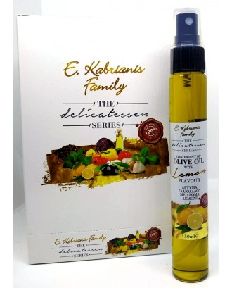 Flavoured olive oil with Lemon in spray 50 ml