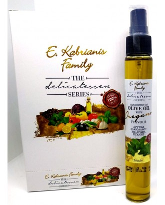 Flavoured olive oil with Oregano  in spray 50 ml