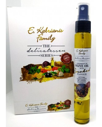 Flavoured olive oil with Smoked flavour in spray 50 ml
