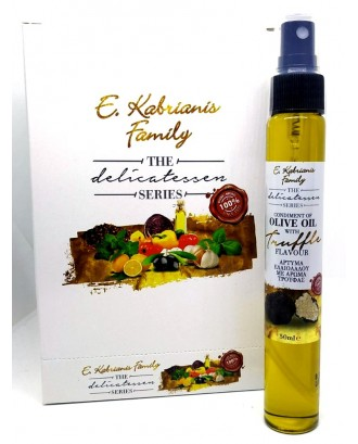 Flavoured olive oil with truffle in spray 50 ml