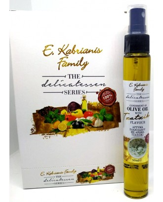 Flavoured olive oil for salad in spray 50 ml