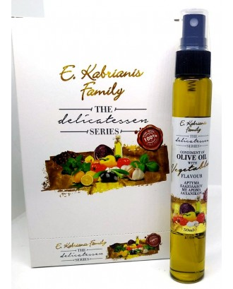 Flavoured olive oil for vegetables in spray 50 ml